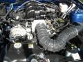 2007 Vista Blue Metallic Ford Mustang V6 Deluxe Coupe  photo #11