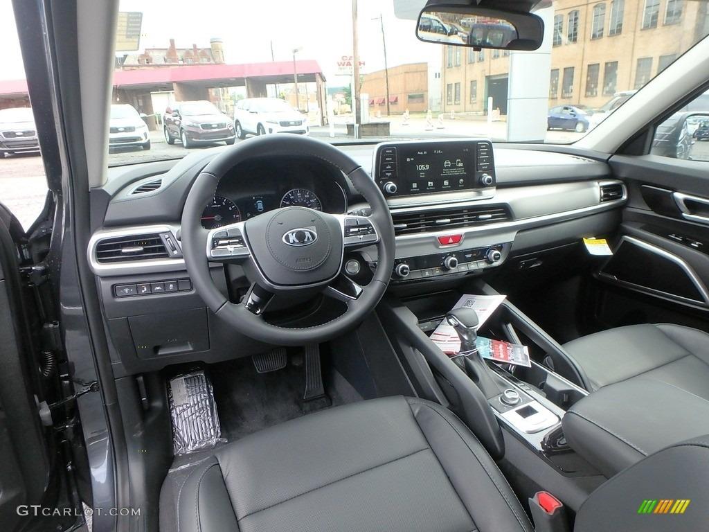 Black Interior 2020 Kia Telluride Lx Awd Photo 133918166 Gtcarlot Com