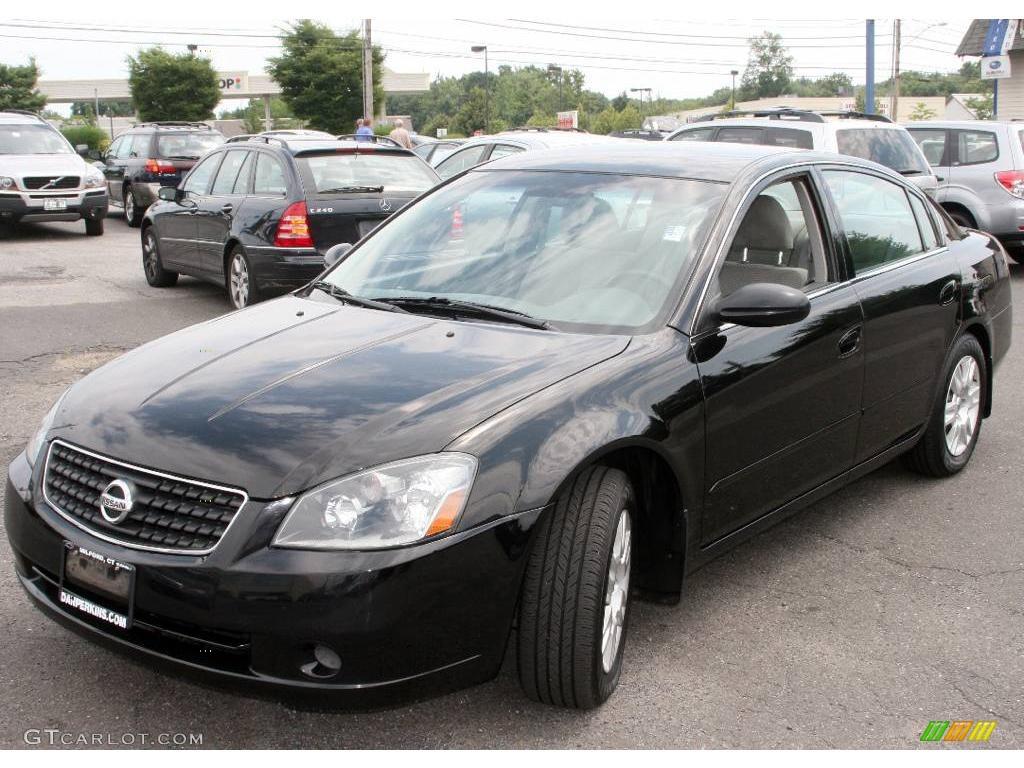 2005 Super Black Nissan Altima 2 5 S 13352325 Photo 8