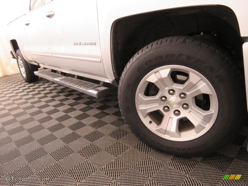 2016 Silverado 1500 LT Crew Cab 4x4 - Silver Ice Metallic / Jet Black photo #3