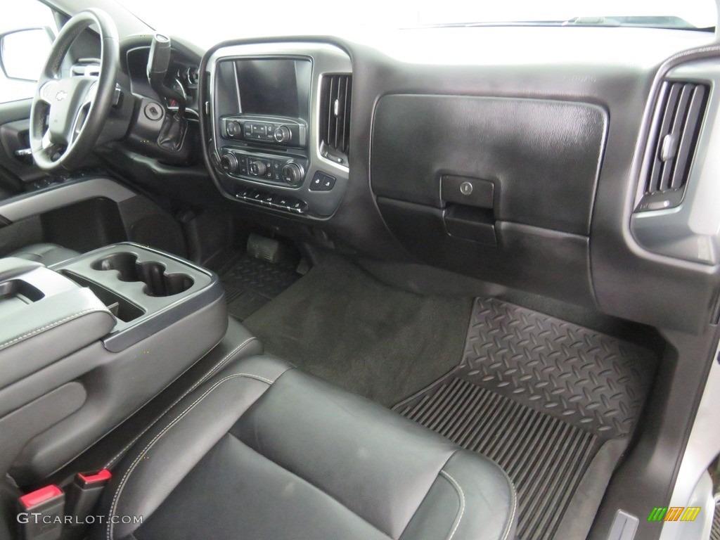 2016 Silverado 1500 LT Crew Cab 4x4 - Silver Ice Metallic / Jet Black photo #38