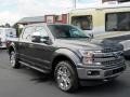 2019 Magnetic Ford F150 Lariat SuperCrew 4x4  photo #7