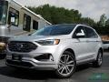 Ingot Silver 2019 Ford Edge Titanium