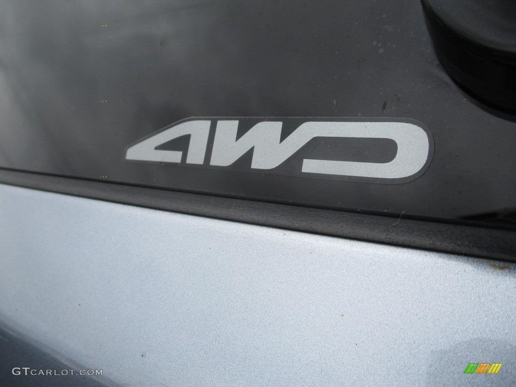 2008 CR-V EX 4WD - Glacier Blue Metallic / Gray photo #6