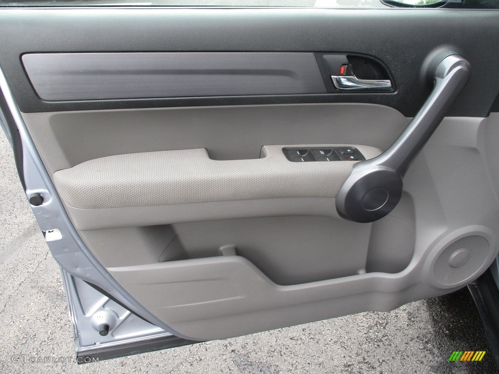 2008 CR-V EX 4WD - Glacier Blue Metallic / Gray photo #11