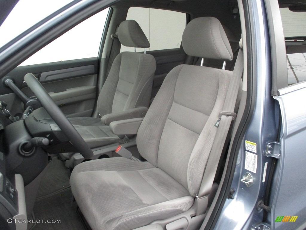 2008 CR-V EX 4WD - Glacier Blue Metallic / Gray photo #13