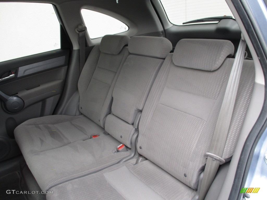 2008 CR-V EX 4WD - Glacier Blue Metallic / Gray photo #14