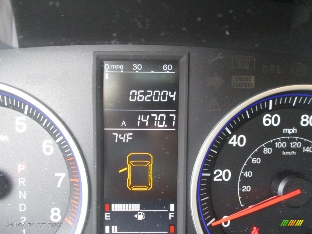 2008 CR-V EX 4WD - Glacier Blue Metallic / Gray photo #20