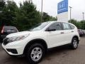 2015 White Diamond Pearl Honda CR-V LX AWD #133937868