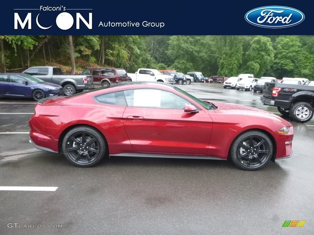 2019 Mustang EcoBoost Fastback - Ruby Red / Ebony photo #1