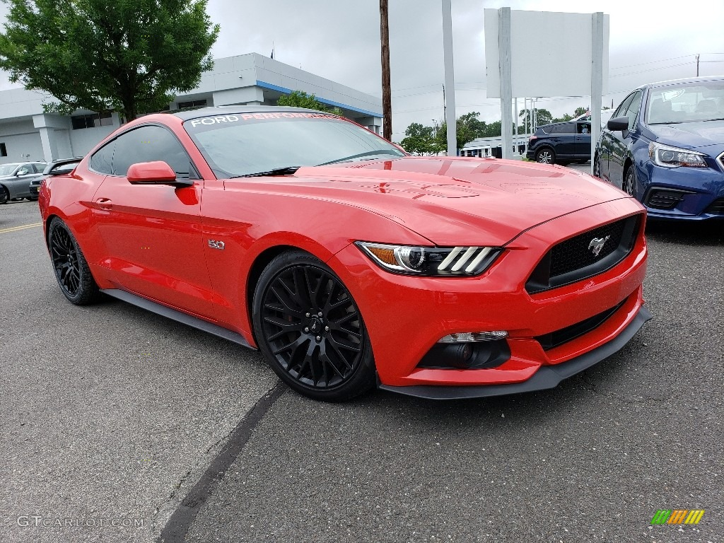 2017 Mustang GT Coupe - Race Red / Ebony photo #1