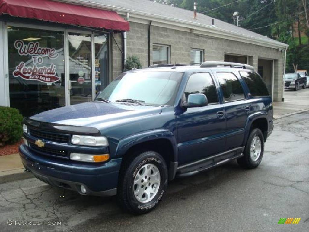 Worksheet. 2005 Bermuda Blue Metallic Chevrolet Tahoe Z71 4x4 13372201