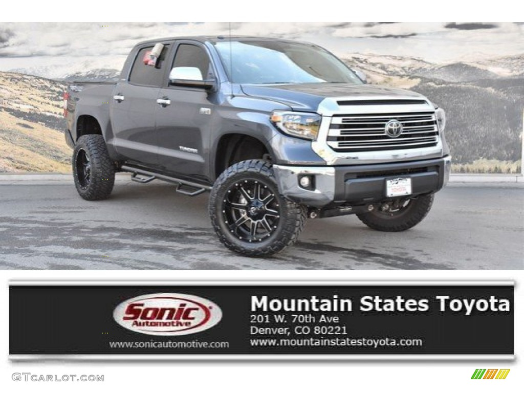 2019 Tundra Limited CrewMax 4x4 - Magnetic Gray Metallic / Black photo #1