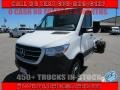 Arctic White 2019 Mercedes-Benz Sprinter 3500XD Cab Chassis