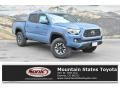 Cavalry Blue 2019 Toyota Tacoma TRD Off-Road Double Cab 4x4