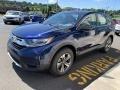 2019 Obsidian Blue Pearl Honda CR-V LX AWD  photo #4