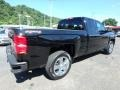 2017 Black Chevrolet Silverado 1500 Custom Double Cab 4x4  photo #3
