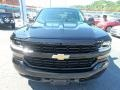 2017 Black Chevrolet Silverado 1500 Custom Double Cab 4x4  photo #9