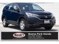 2016 Crystal Black Pearl Honda CR-V LX #133995489