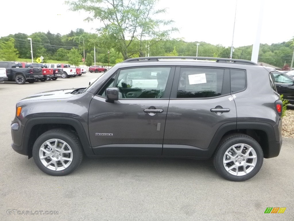 2019 Renegade Latitude 4x4 - Granite Crystal Metallic / Black/Ski Grey photo #3