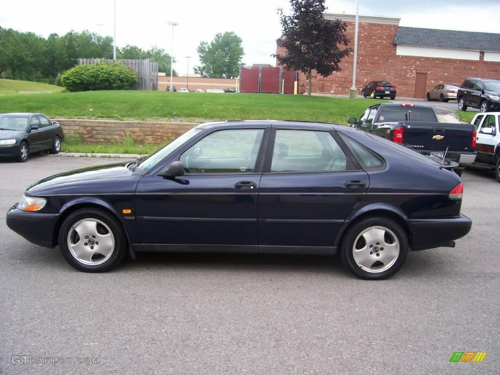 1998 midnight blue pearl saab 900 se turbo sedan 13359022. Black Bedroom Furniture Sets. Home Design Ideas