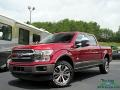 2019 Ruby Red Ford F150 King Ranch SuperCrew 4x4  photo #1