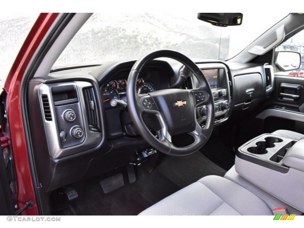 2014 Silverado 1500 LT Double Cab 4x4 - Deep Ruby Metallic / Jet Black/Dark Ash photo #10