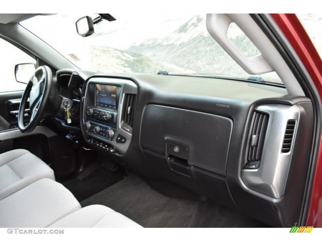2014 Silverado 1500 LT Double Cab 4x4 - Deep Ruby Metallic / Jet Black/Dark Ash photo #16