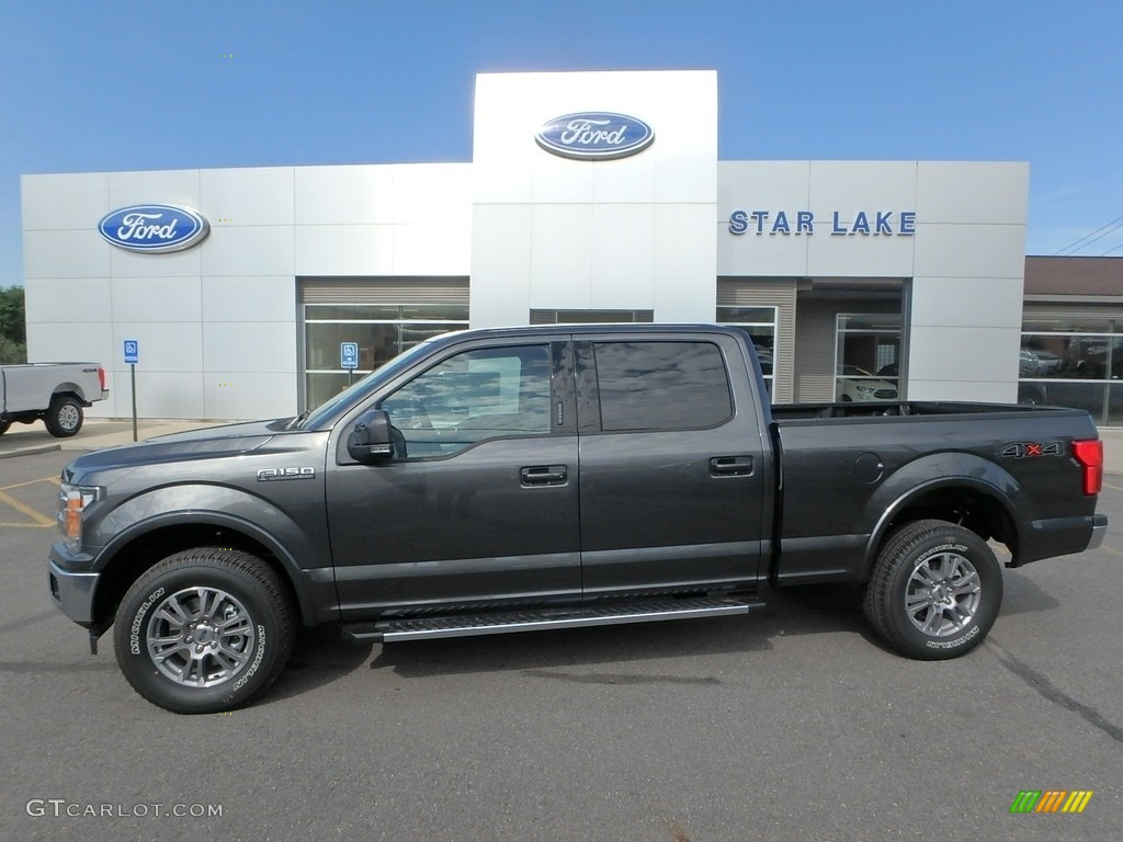2019 F150 Lariat SuperCrew 4x4 - Magnetic / Earth Gray photo #1