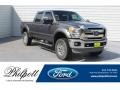 2012 Sterling Grey Metallic Ford F250 Super Duty Lariat Crew Cab 4x4 #134032978