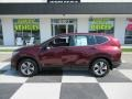 2018 Basque Red Pearl II Honda CR-V LX #134072416