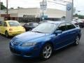 2007 Bright Island Blue Metallic Mazda MAZDA6 i Touring Hatchback #13360263
