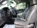 Jet Black Front Seat Photo for 2019 Chevrolet Silverado 1500 #134097931