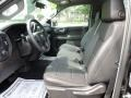 Jet Black Front Seat Photo for 2019 Chevrolet Silverado 1500 #134097958