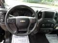 Jet Black Steering Wheel Photo for 2019 Chevrolet Silverado 1500 #134098003