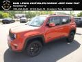 2019 Omaha Orange Jeep Renegade Altitude 4x4 #134099324