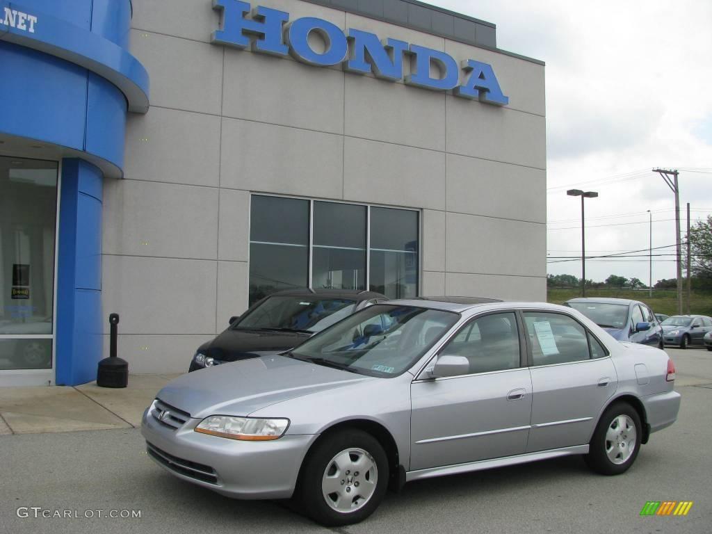 2001 Satin Silver Metallic Honda Accord Ex V6 Sedan