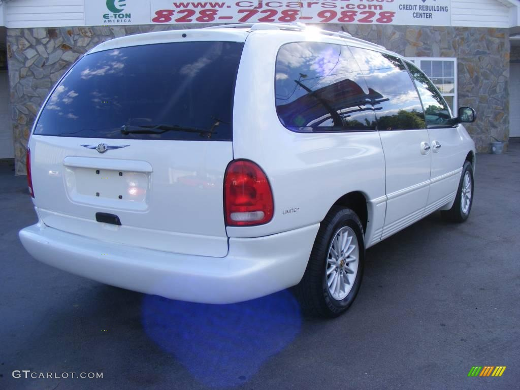 1999 bright white chrysler town country limited 13367899 gtcarlot com car color galleries gtcarlot com