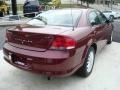 2002 Dark Garnet Red Pearl Chrysler Sebring LX Sedan  photo #4
