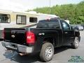 2008 Black Chevrolet Silverado 1500 LS Regular Cab 4x4  photo #6