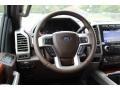 2019 Ford F250 Super Duty King Ranch Java Interior Steering Wheel Photo