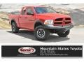 2012 Flame Red Dodge Ram 1500 Express Quad Cab 4x4 #134121308