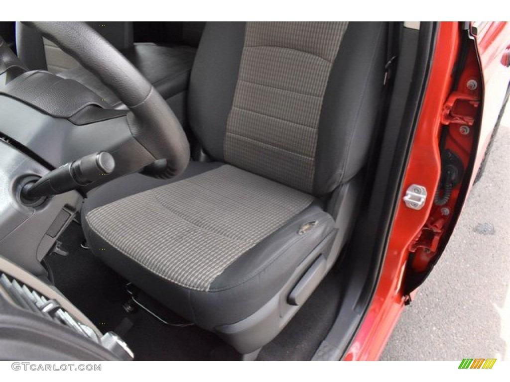 2012 Ram 1500 Express Quad Cab 4x4 - Flame Red / Dark Slate Gray/Medium Graystone photo #12