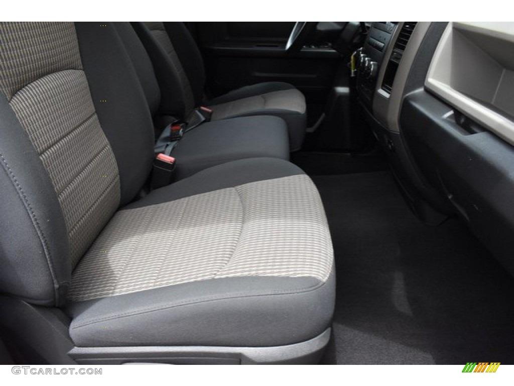 2012 Ram 1500 Express Quad Cab 4x4 - Flame Red / Dark Slate Gray/Medium Graystone photo #17
