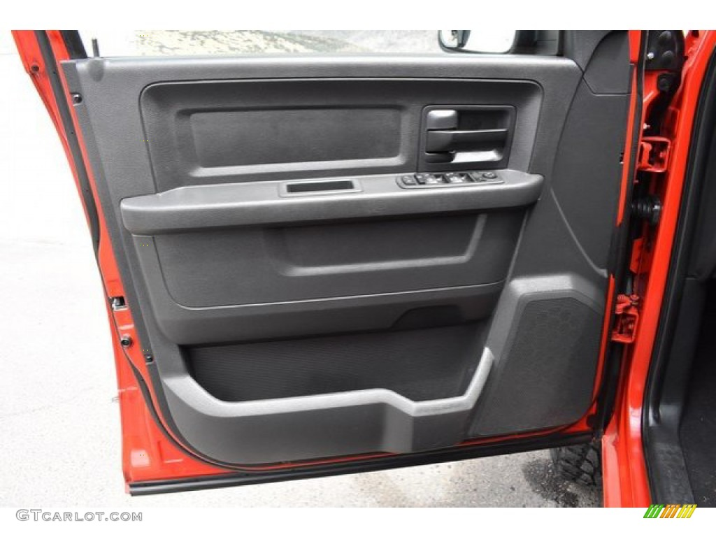2012 Ram 1500 Express Quad Cab 4x4 - Flame Red / Dark Slate Gray/Medium Graystone photo #24