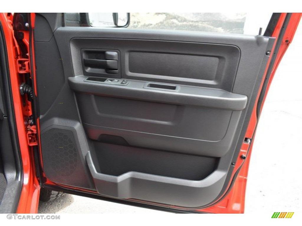 2012 Ram 1500 Express Quad Cab 4x4 - Flame Red / Dark Slate Gray/Medium Graystone photo #25