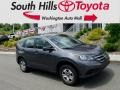 2014 Polished Metal Metallic Honda CR-V LX AWD #134139289
