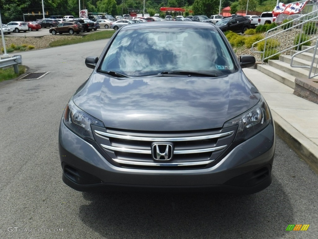 2014 CR-V LX AWD - Polished Metal Metallic / Gray photo #4