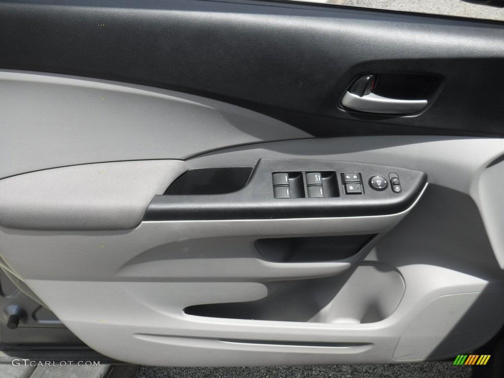 2014 CR-V LX AWD - Polished Metal Metallic / Gray photo #13