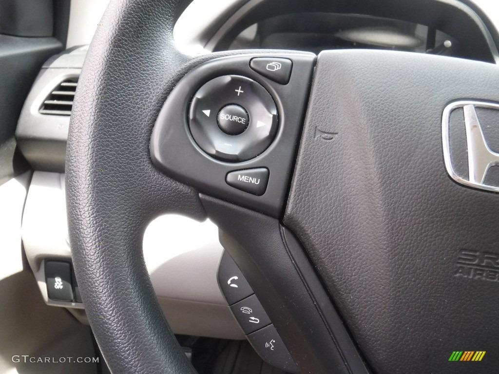 2014 CR-V LX AWD - Polished Metal Metallic / Gray photo #18